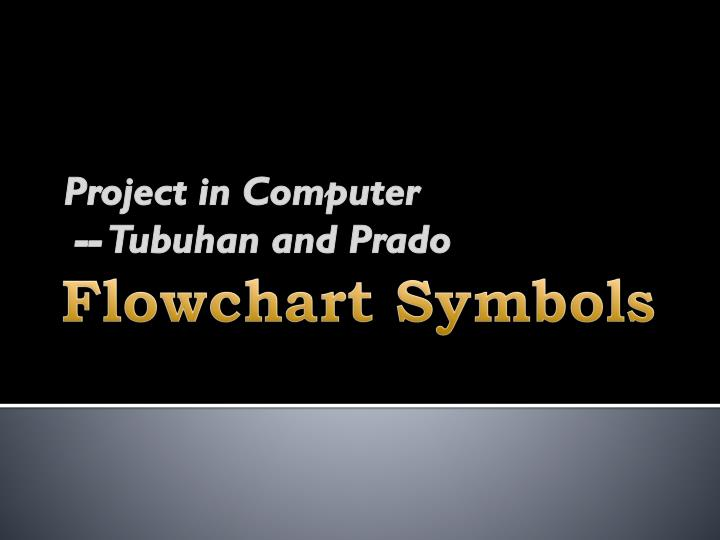 Project in Computer