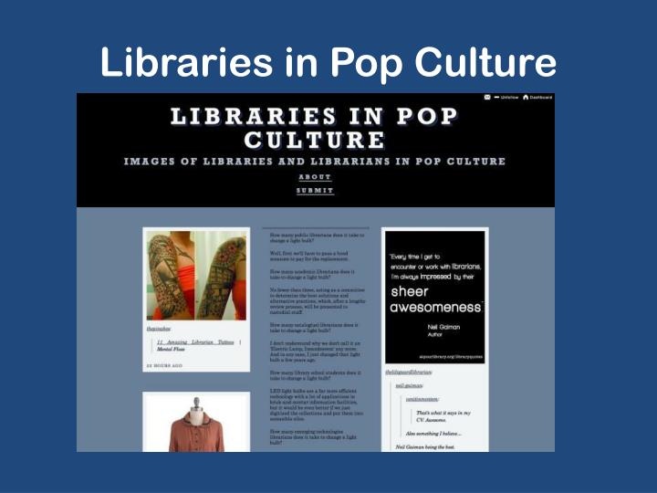Libraries in Pop Culture
