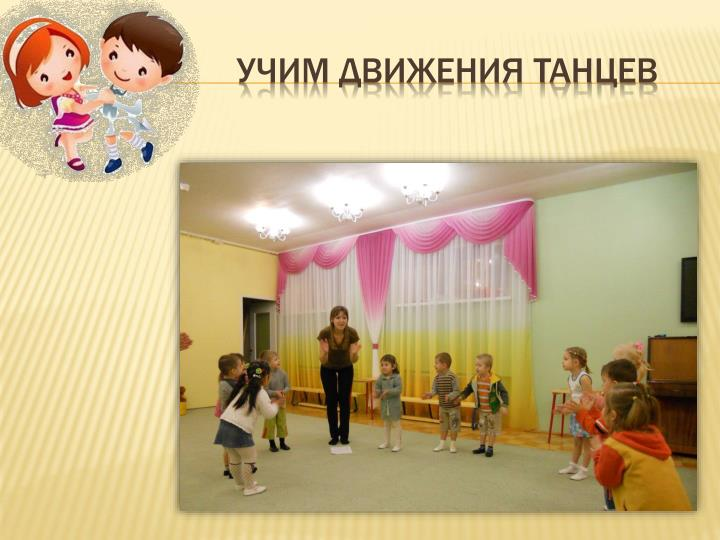 Учим движения танцев
