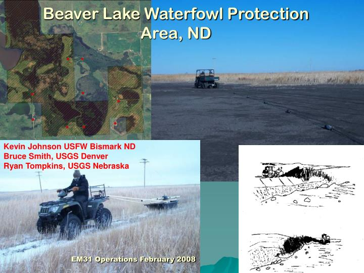 Beaver Lake Waterfowl Protection Area, ND