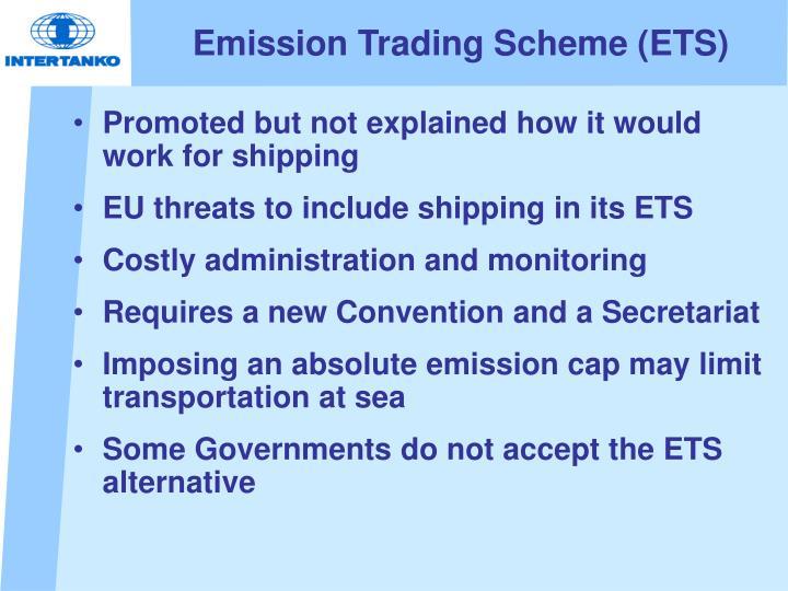 Emission Trading Scheme (ETS)