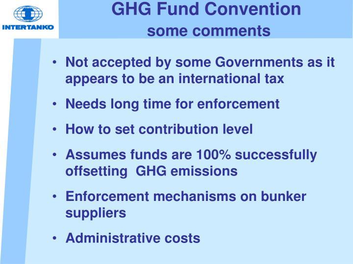 GHG Fund Convention