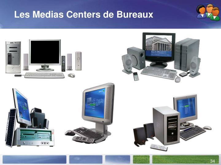 Les Medias Centers de Bureaux