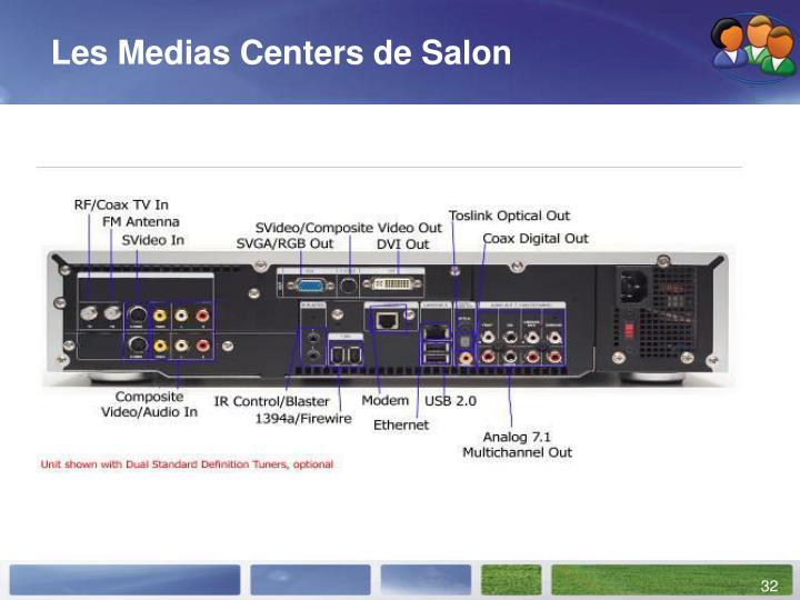 Les Medias Centers de Salon