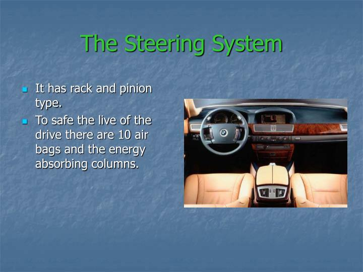The Steering System