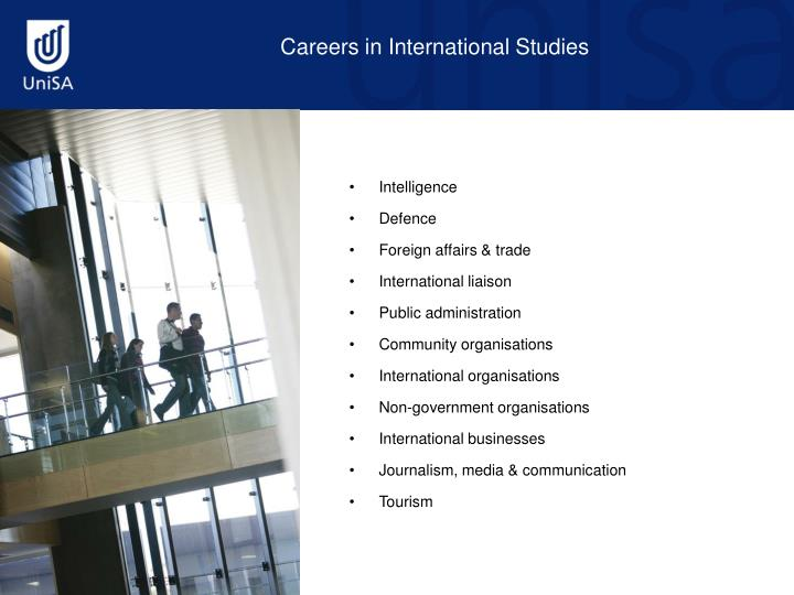 Careers in International Studies