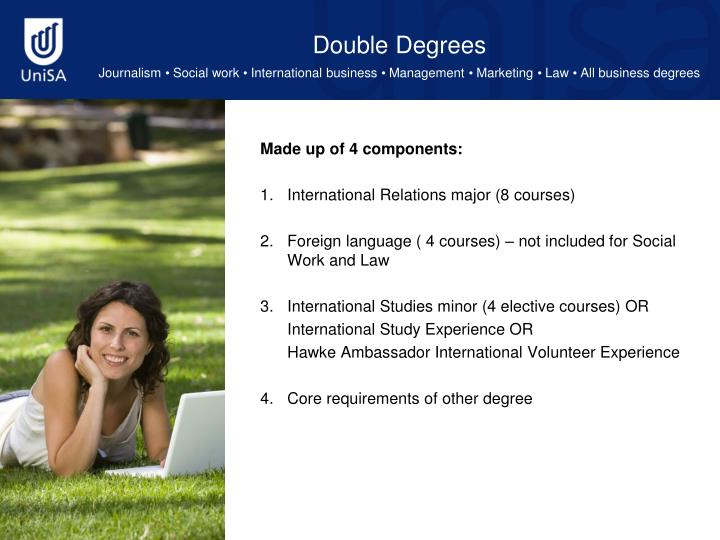 Double Degrees