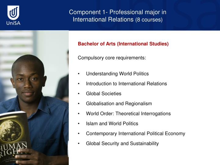 Component 1- Professional major in