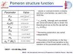 pomeron structure function2