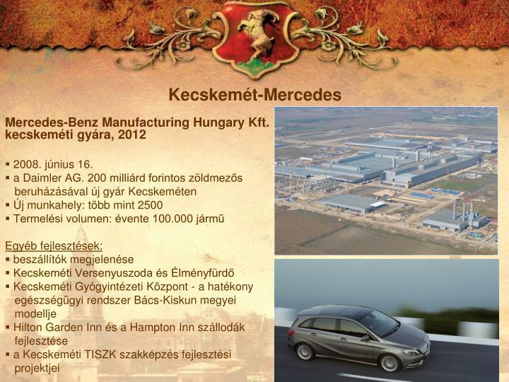 Kecskemét-Mercedes