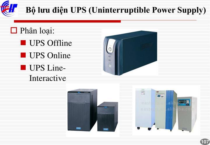 Bộ lưu điện UPS (