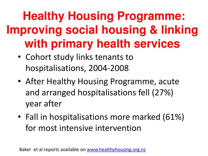 Healthy Housing
