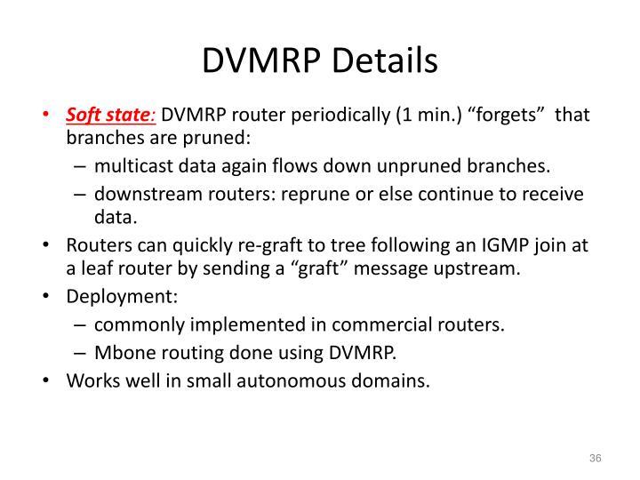 DVMRP Details
