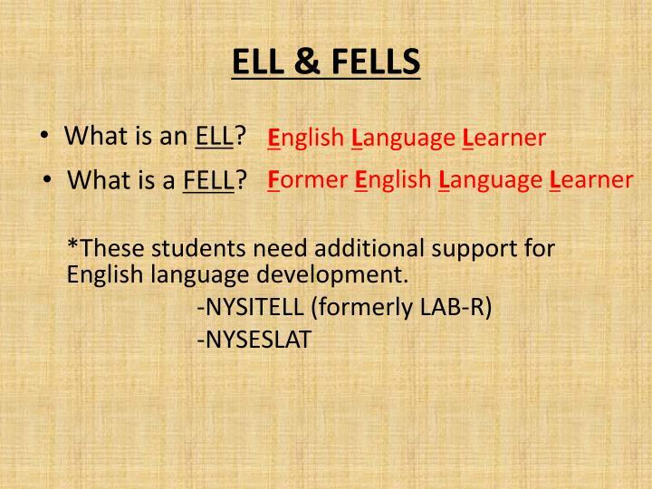ELL & FELLS