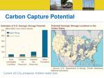 carbon capture potential