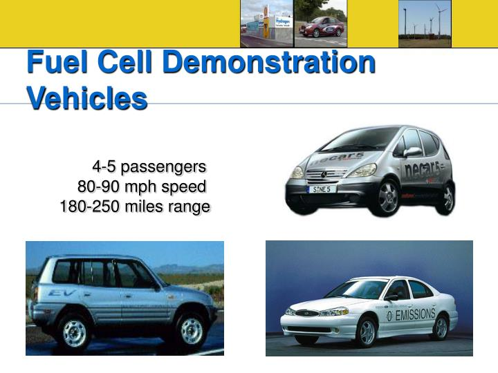 Fuel Cell Demonstration Vehicles