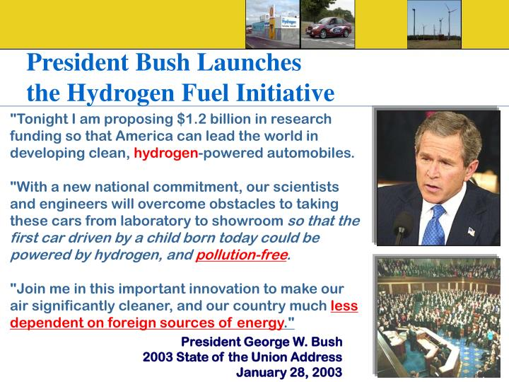 President Bush Launches