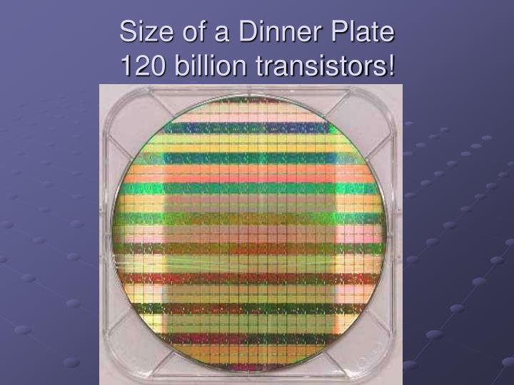 Size of a Dinner Plate