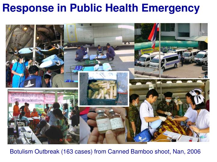 Response in Public Health Emergency
