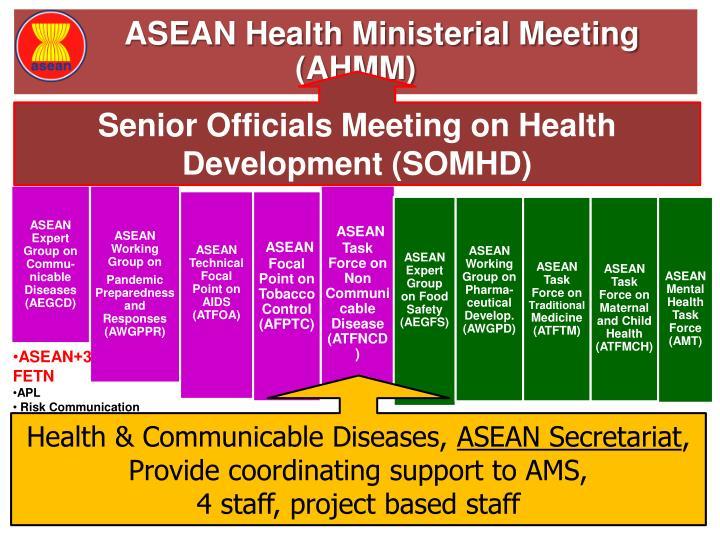 ASEAN Health Ministerial Meeting (AHMM)