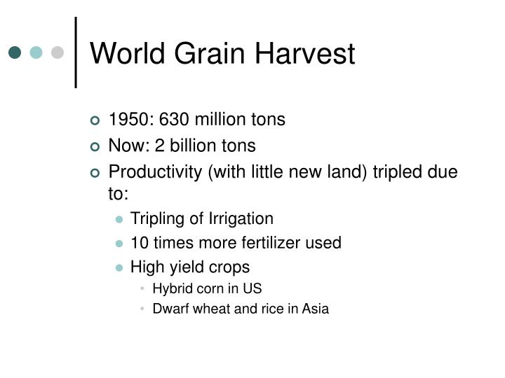 World Grain Harvest