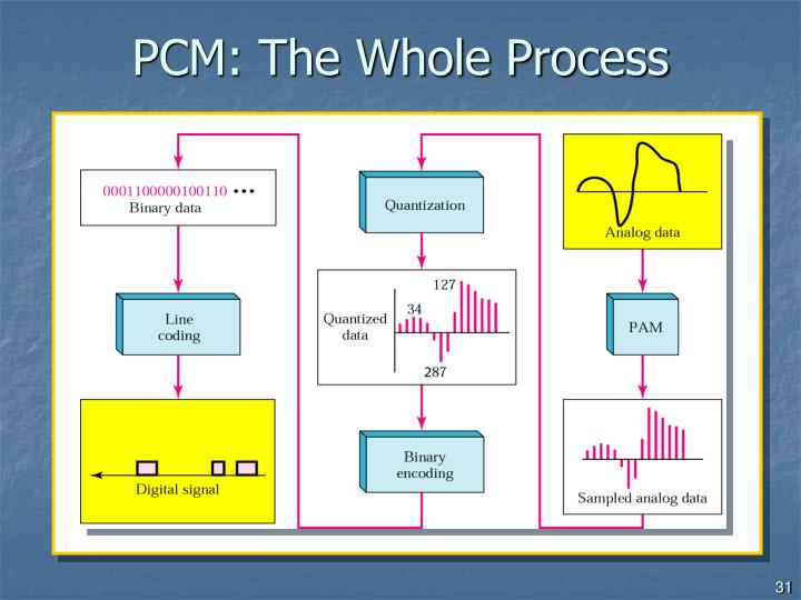 PCM: The Whole Process
