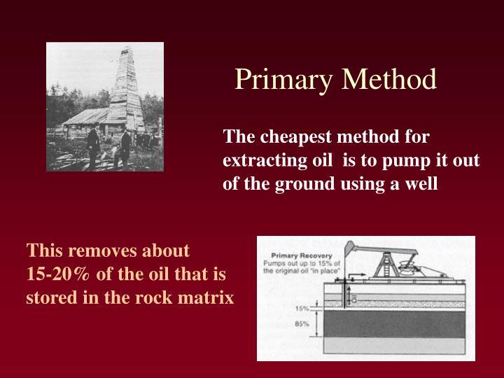 Primary Method