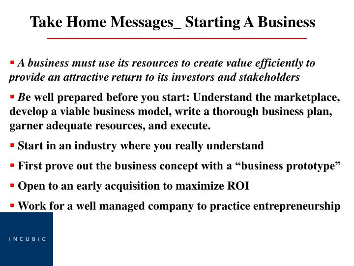 A business must use its resources to create value efficiently to   provide an attractive return to its investors and stakeholders