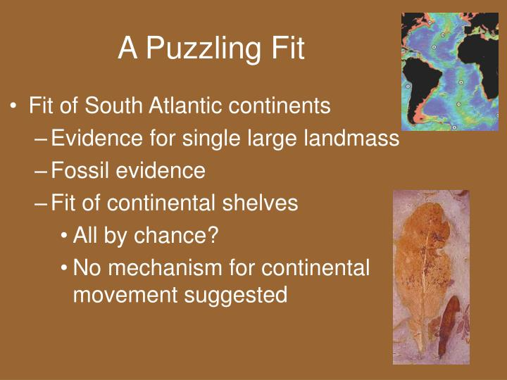 A Puzzling Fit