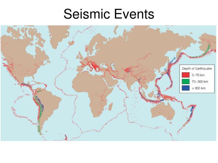 Seismic Events