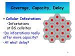coverage capacity delay