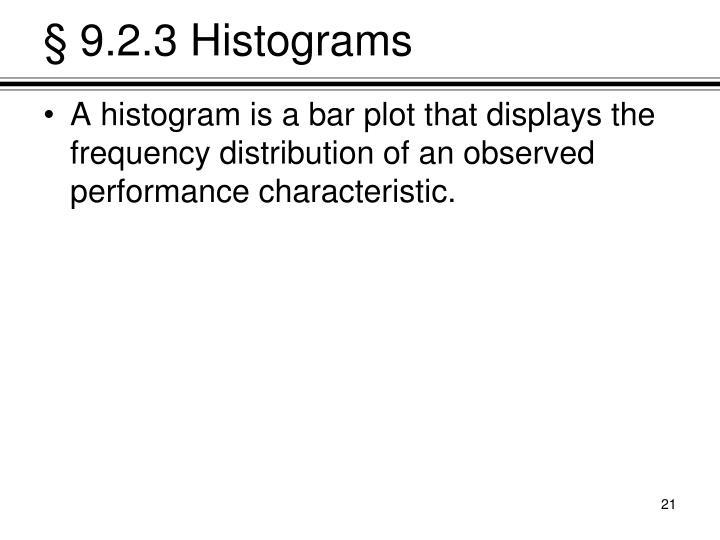 § 9.2.3 Histograms