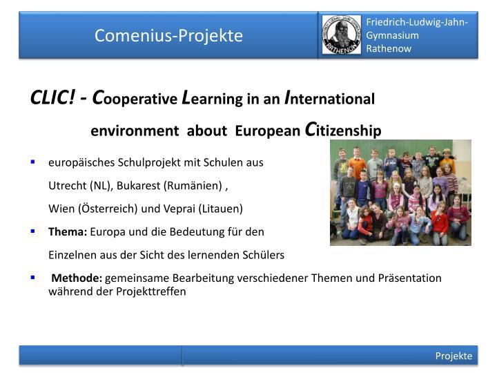 Comenius-Projekte