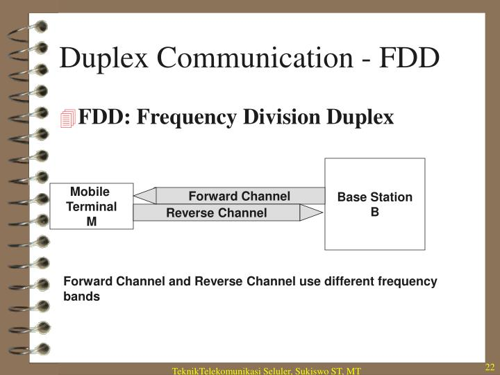 Duplex Communication - FDD
