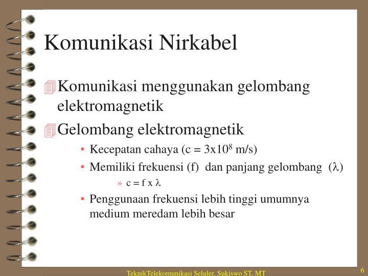 Komunikasi Nirkabel
