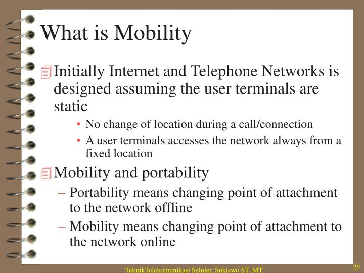 What is Mobility