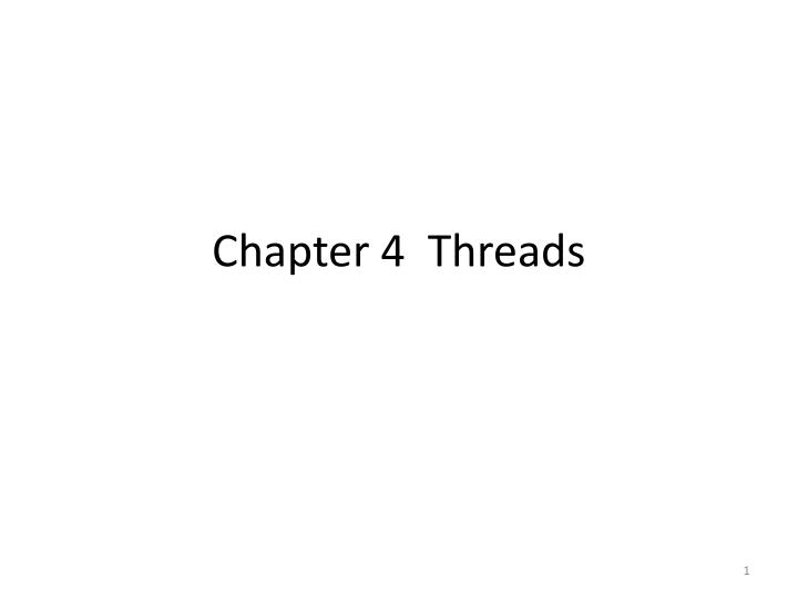 Chapter 4 threads
