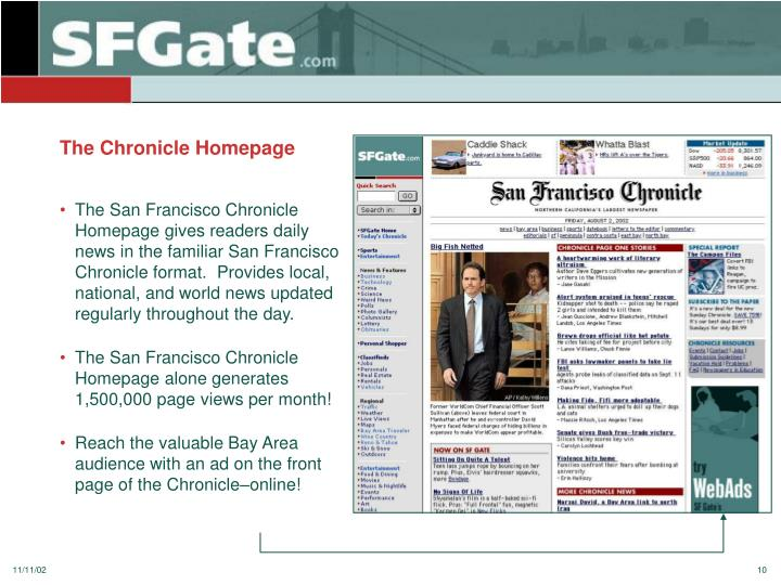 The Chronicle Homepage