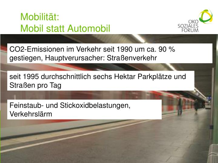 Mobilität: