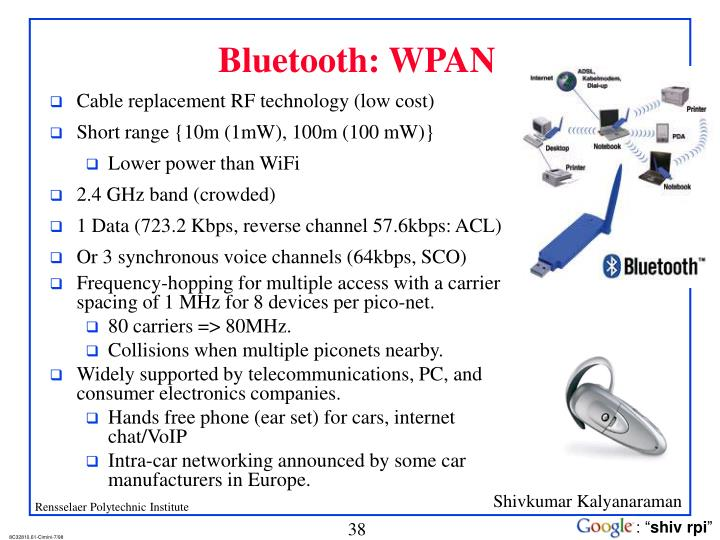Bluetooth: WPAN