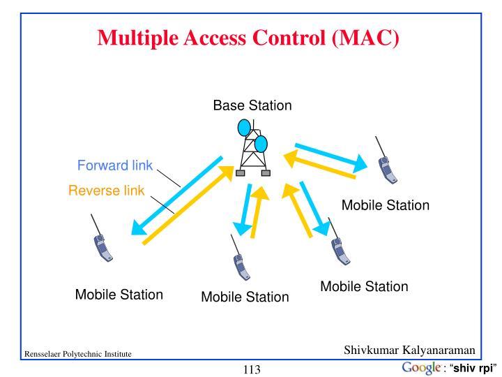 Multiple Access Control (MAC)