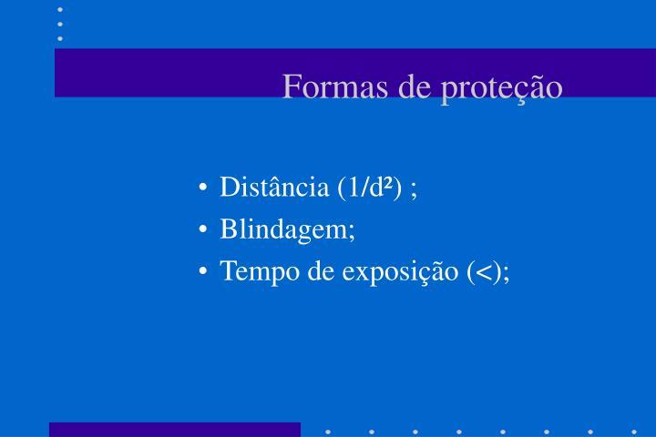 Formas de proteção