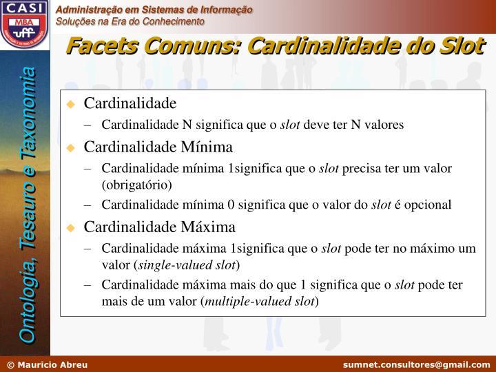 Cardinalidade