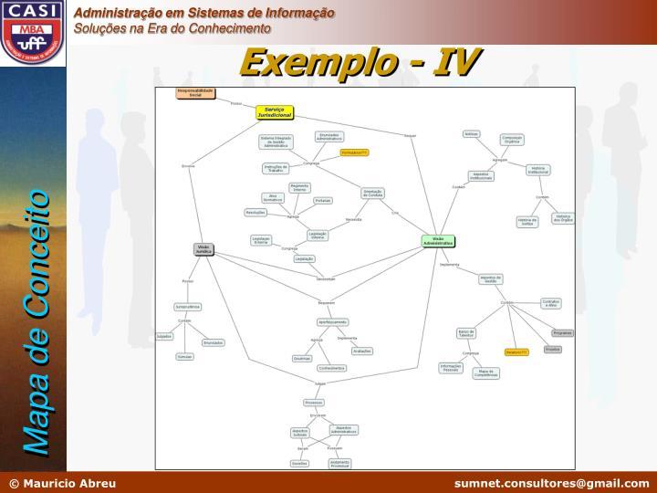 Exemplo - IV