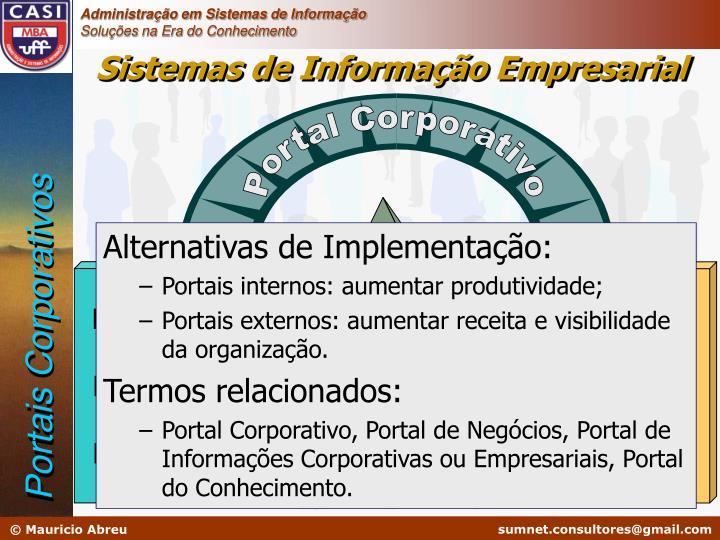 Portal Corporativo