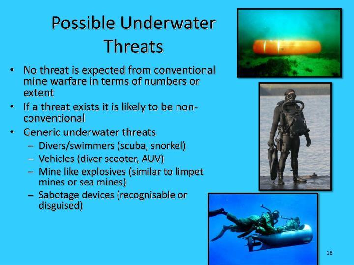 Possible Underwater