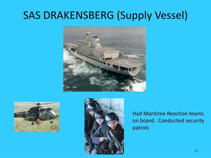 SAS DRAKENSBERG (Supply Vessel)