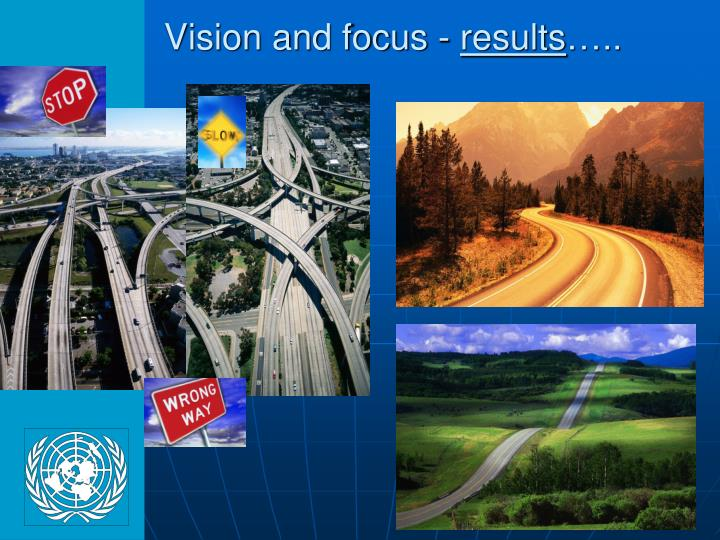 Vision and focus -
