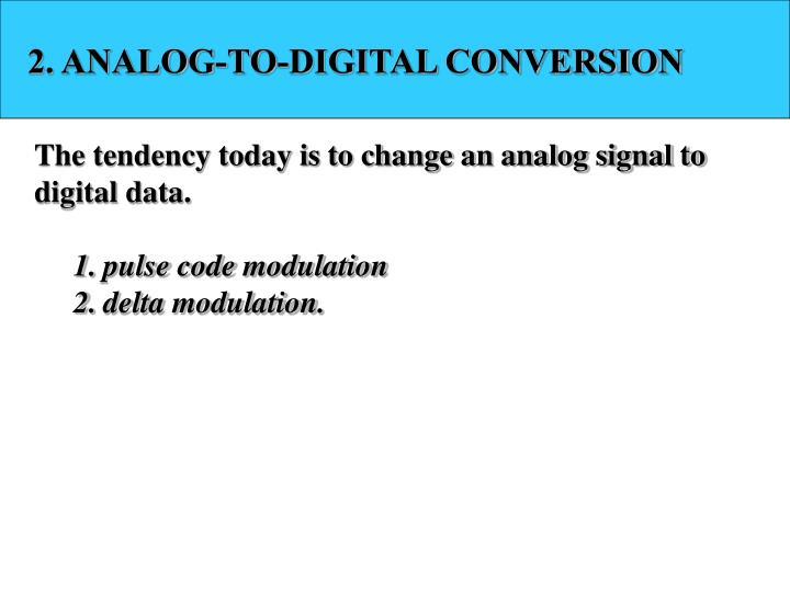 2. ANALOG-TO-DIGITAL CONVERSION