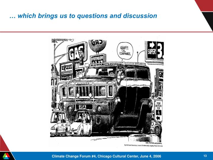 … which brings us to questions and discussion